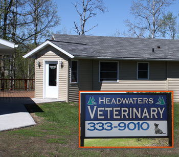 Headwaters Veterinary Center Building